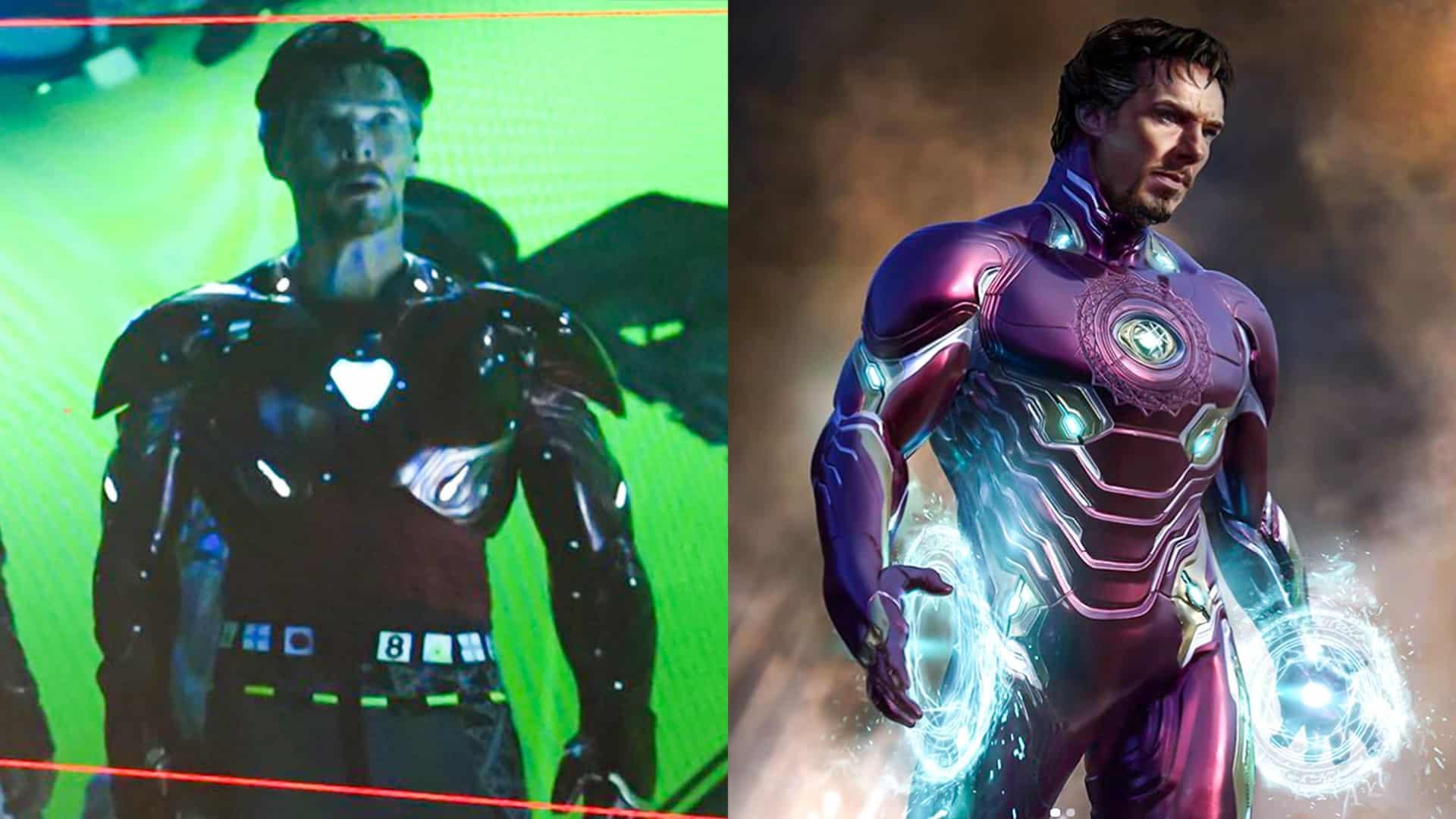 Doctor Strange Iron Man oblek