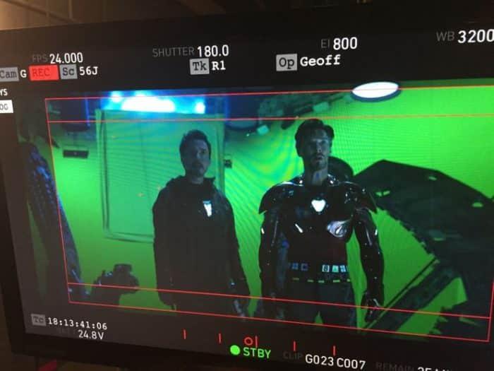 Iron Man Doctor Strange oblek