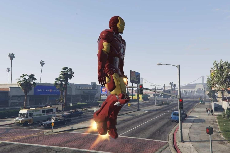GTA 5 Marvel Iron Man