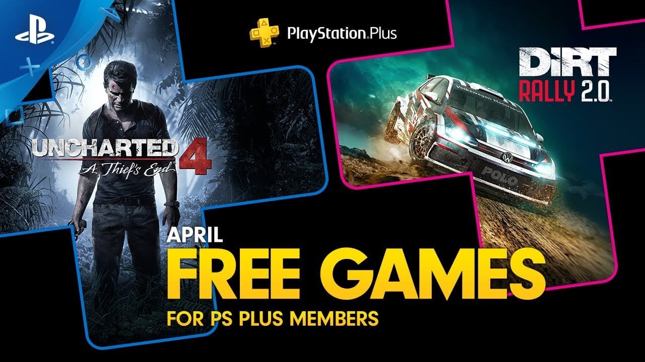 Uncharted 4 Dirt 2.0 PS Plus