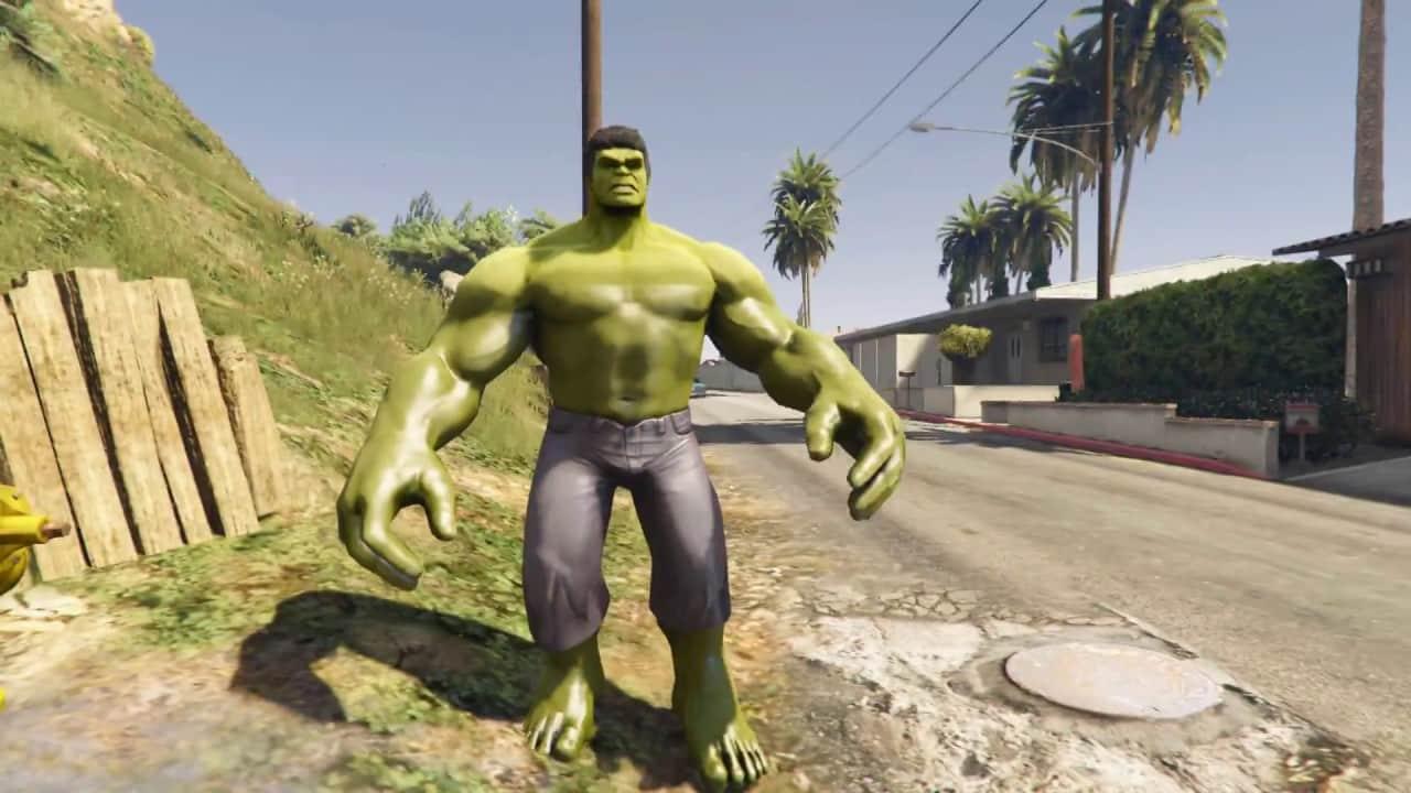 GTA 5 Marvel Hulk