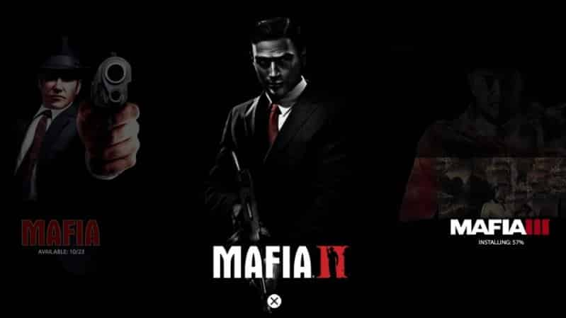 menu Mafia: Definitive Edition
