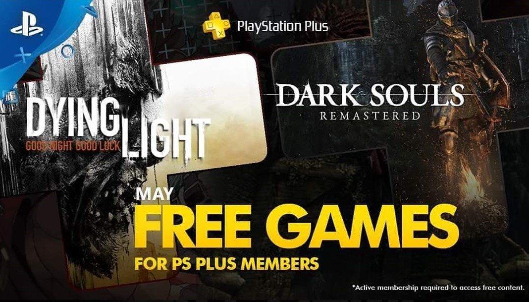 Dark Souls Dying Light PS Plus