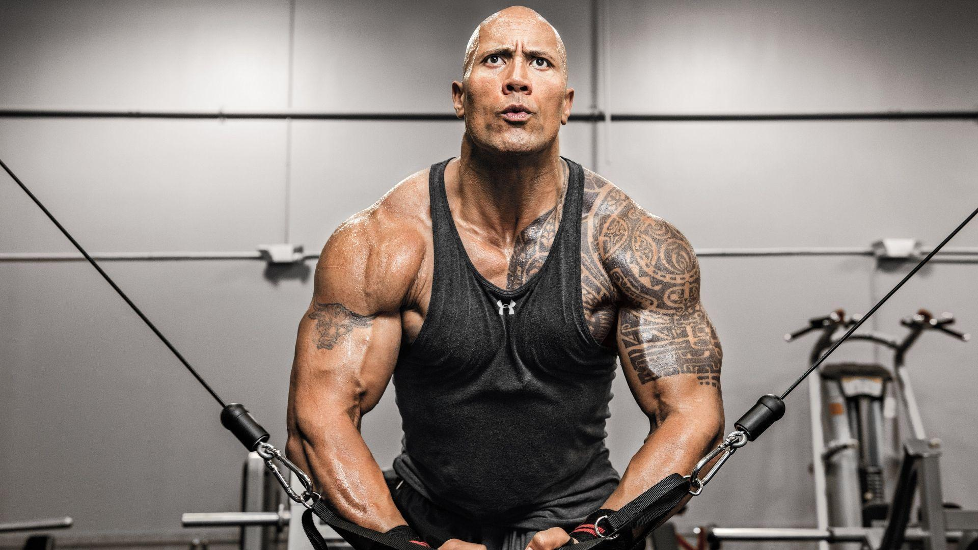 "herec Dwayne ""The Rock"" Johnson"