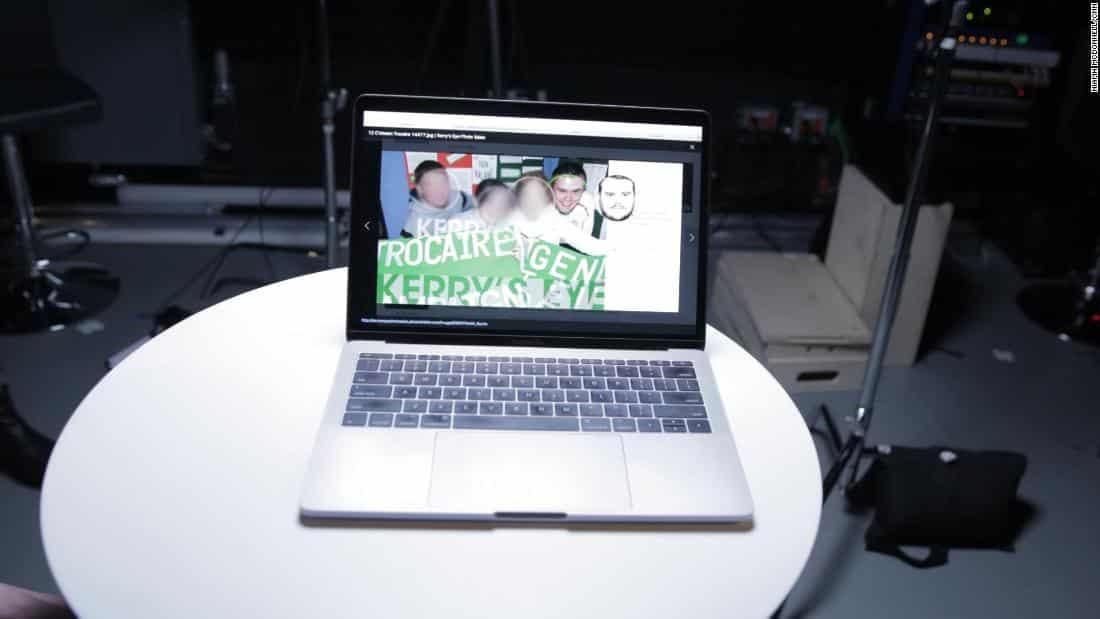 clearview ai foto laptop