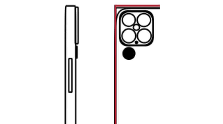 iPhone 13 Apple fotoaparát