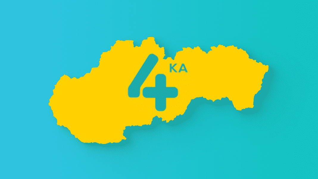 4ka internet pokrytie na slovensku