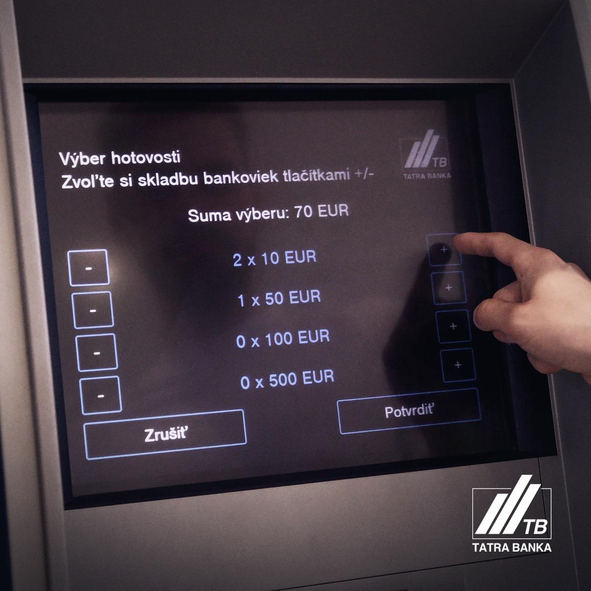 tatra banka bankomat