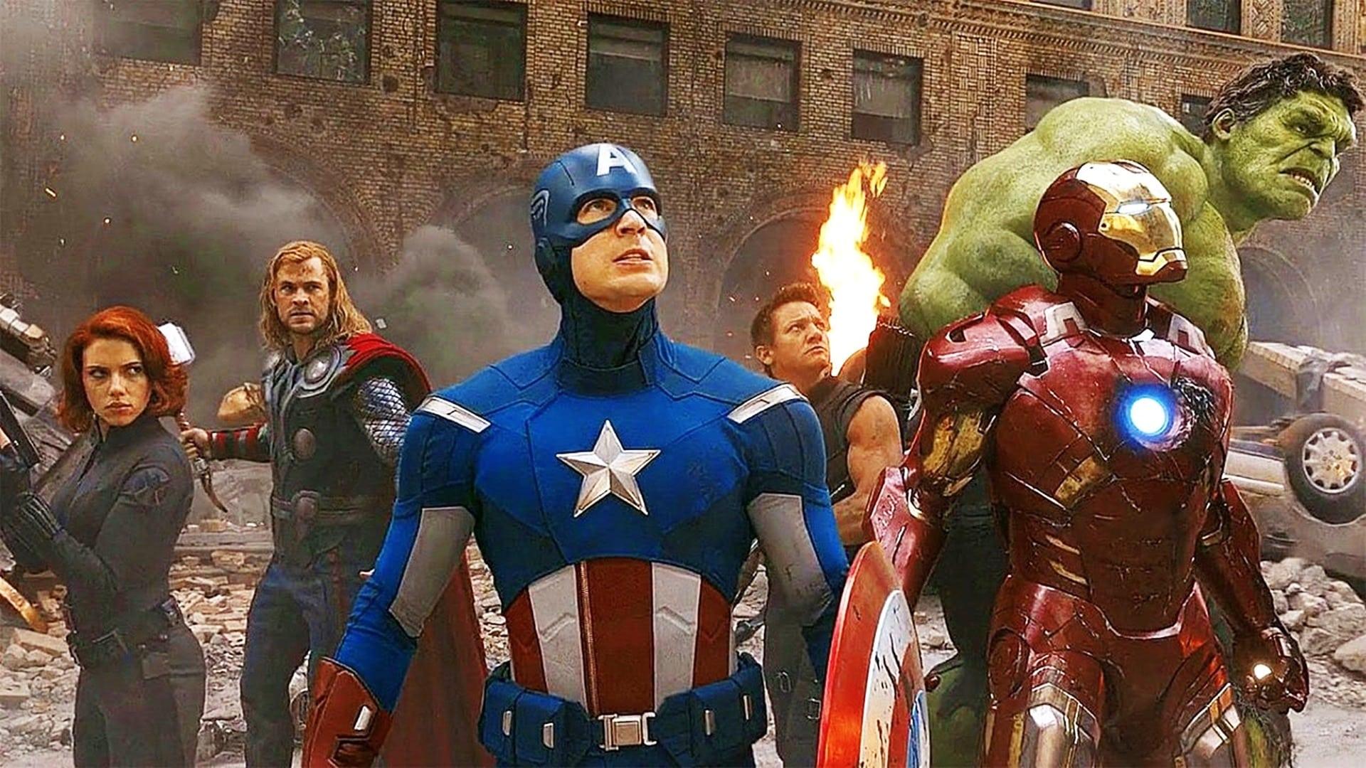 Stretnutie hlavných Avengerov