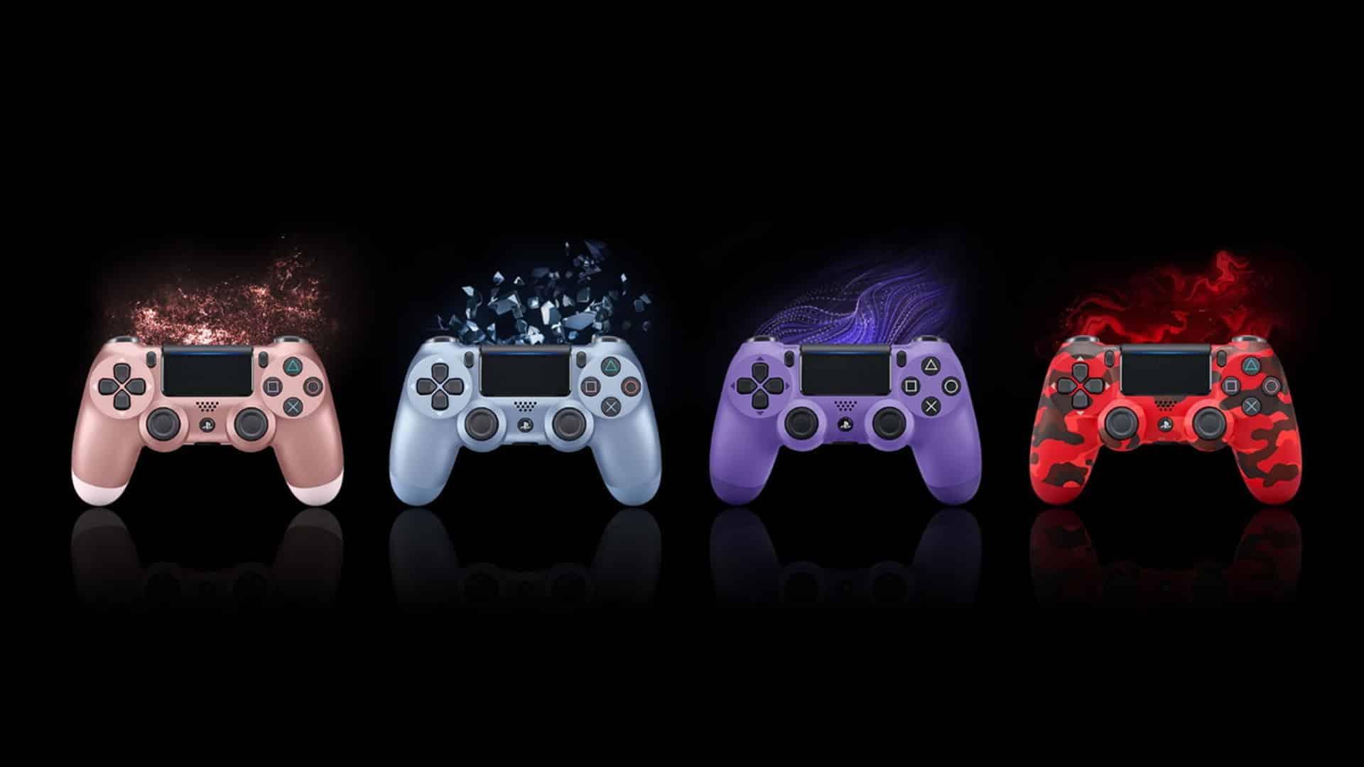 DualShock 4 na PlayStation 4