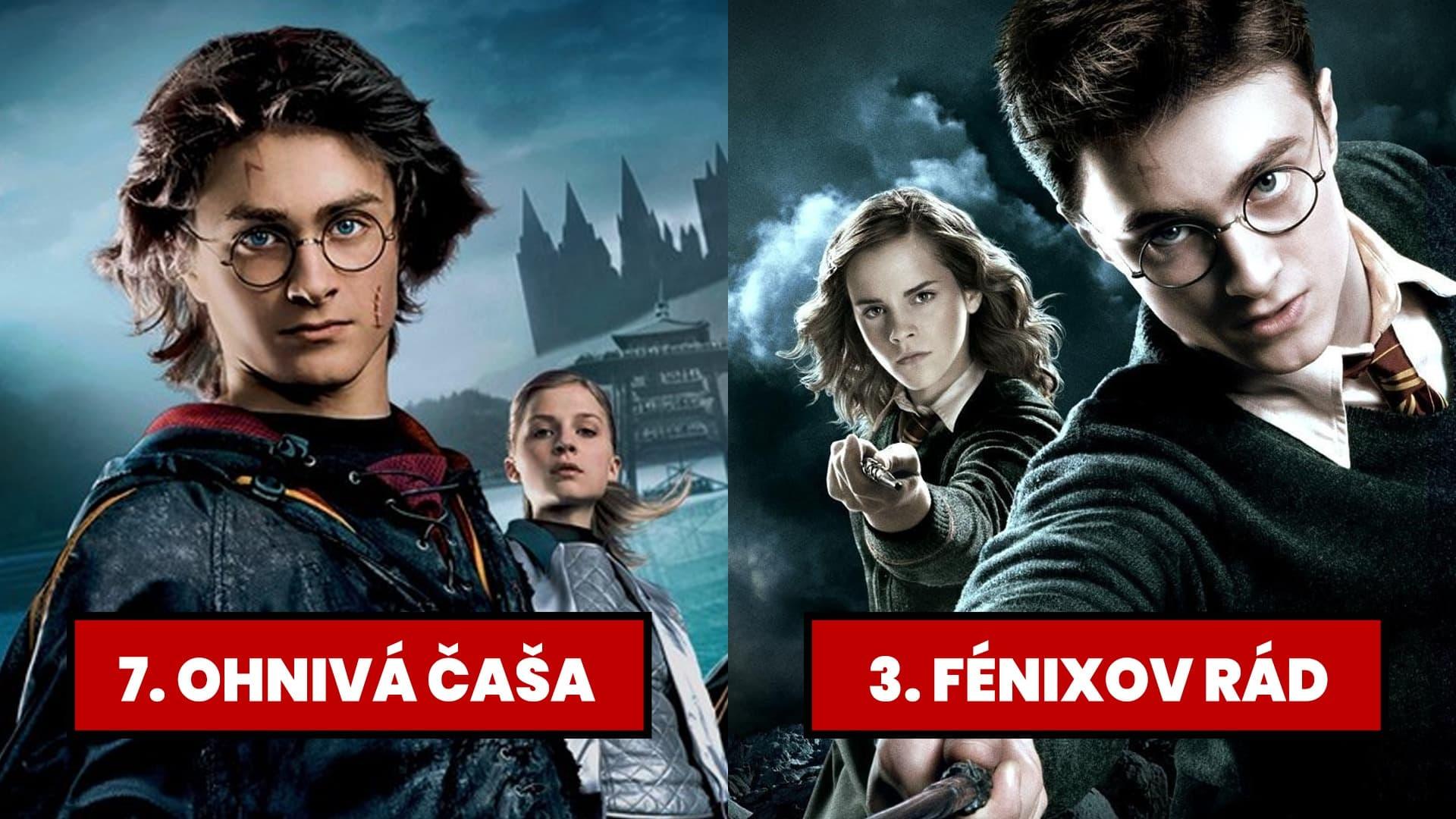 poradie Harry Potter filmov