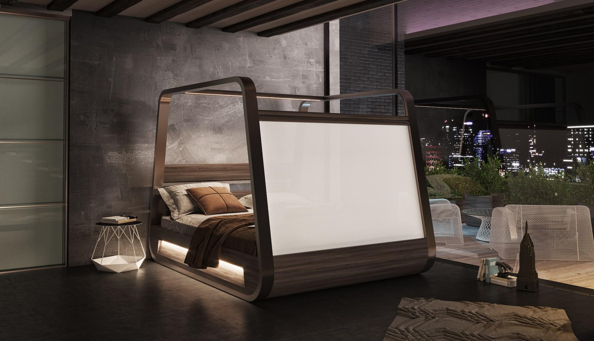 Smart posteľ