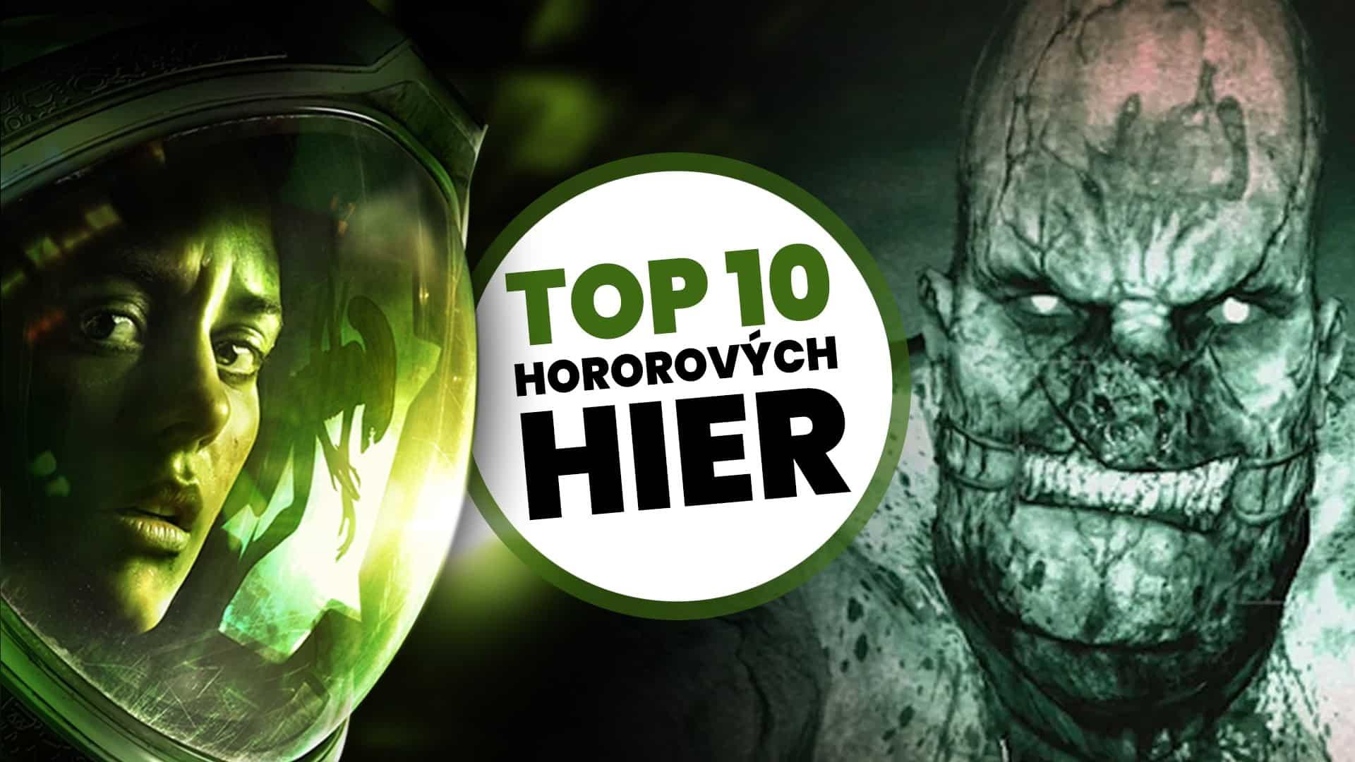 najlepsie hororove hry