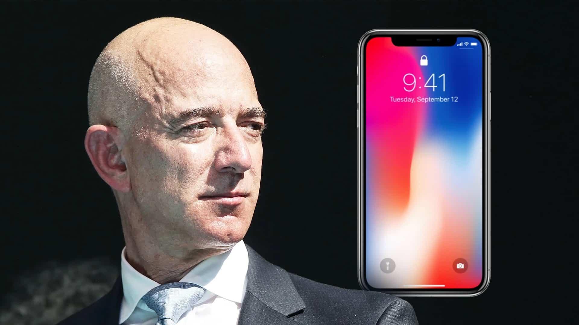 Jeffovi Bezosovi hackli iPhone