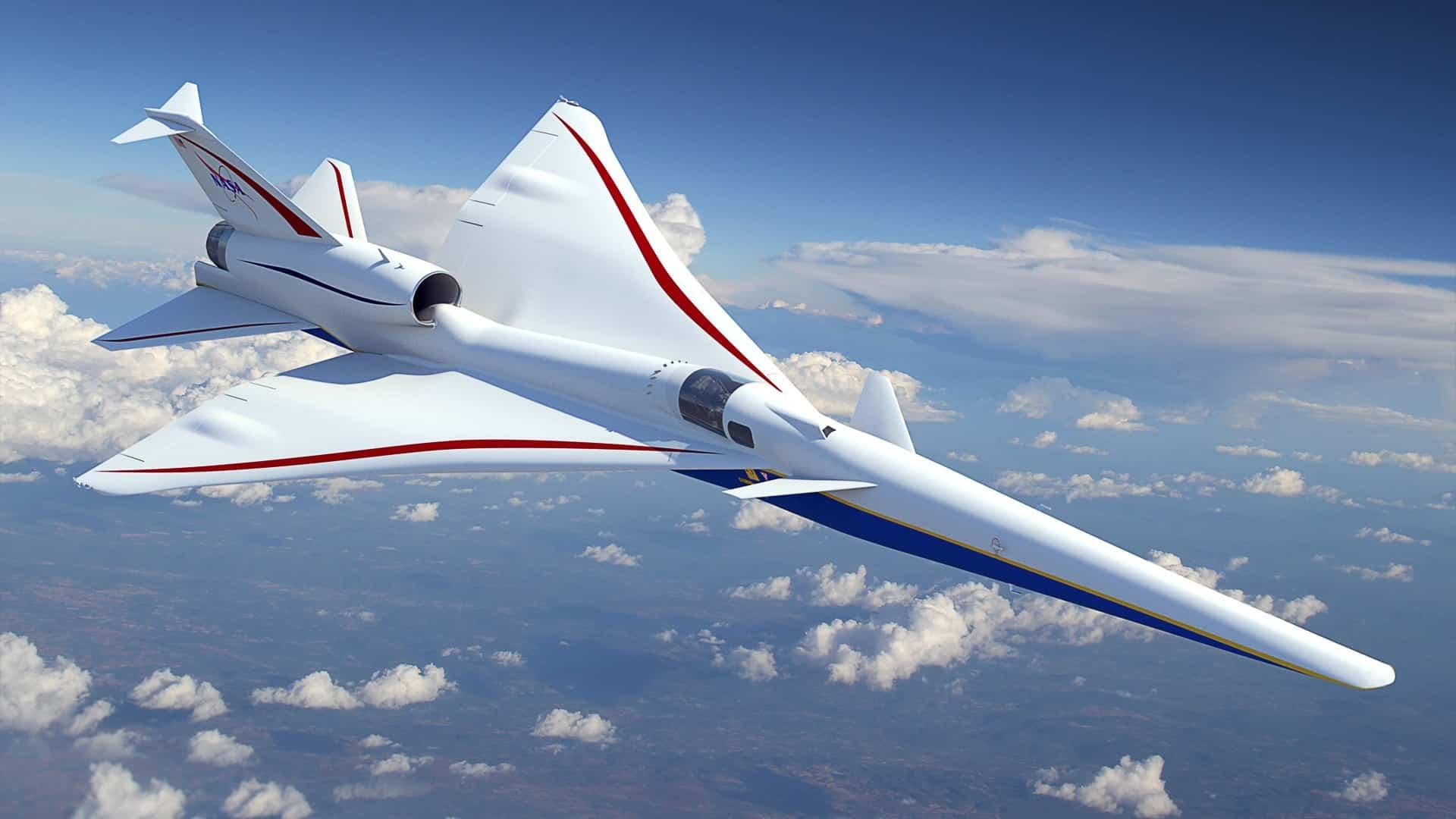 NASA nadzvukove lietadlo