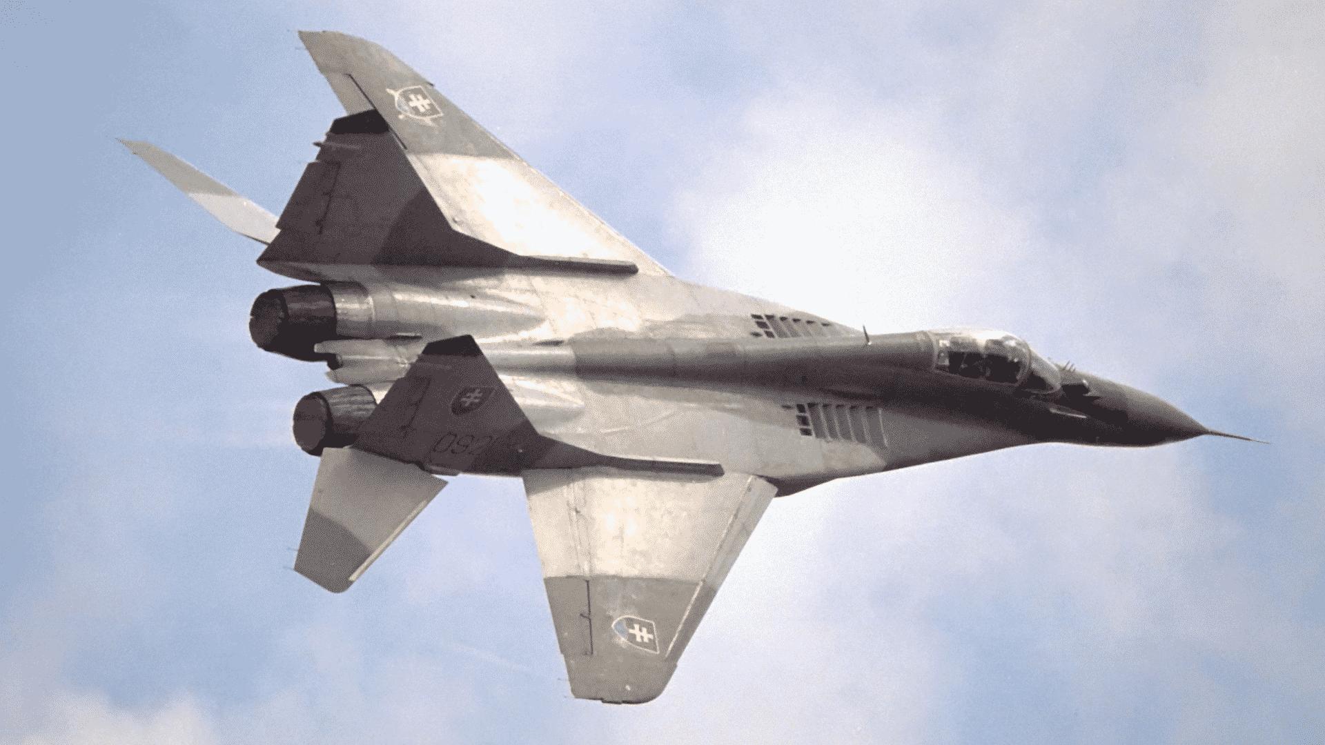 Spadlastíhačka MiG-29