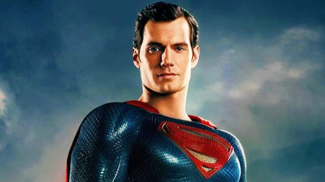 henry cavill ako superman
