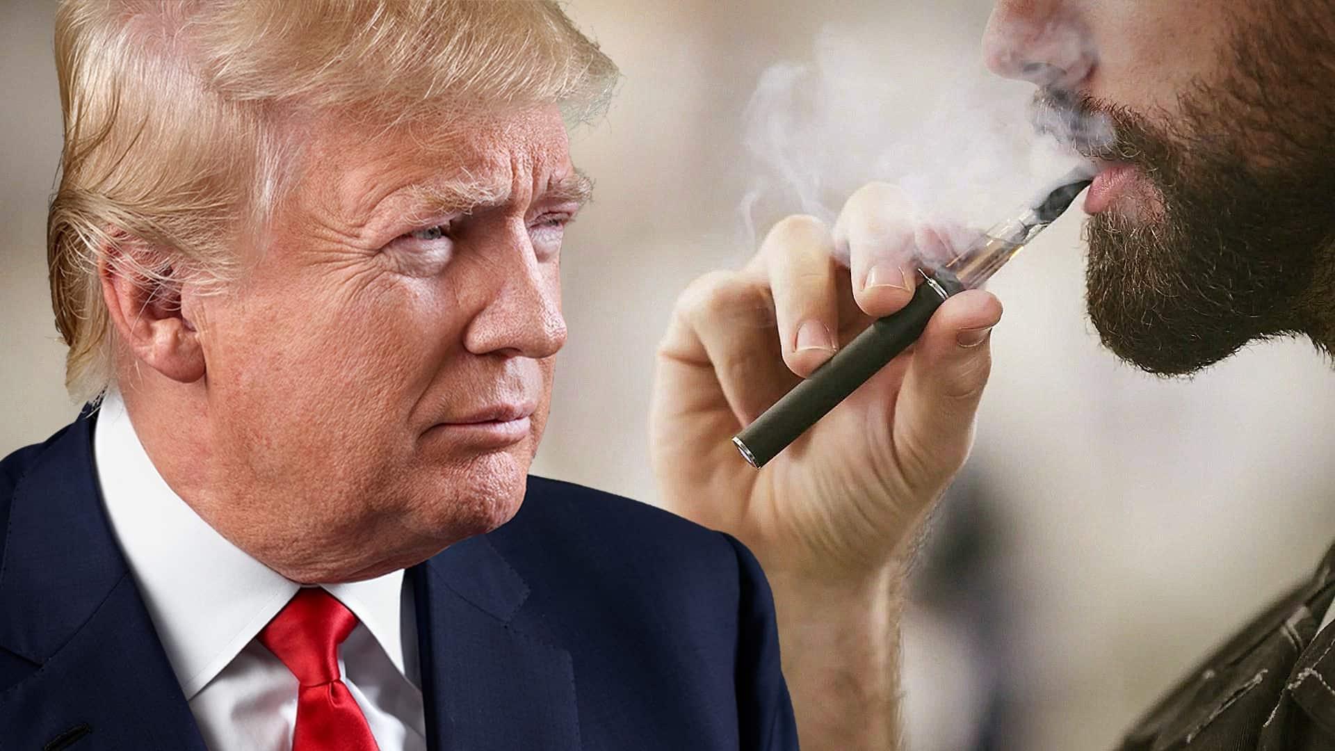 Trump chce zakázať ochutené náplne do e-cigariet