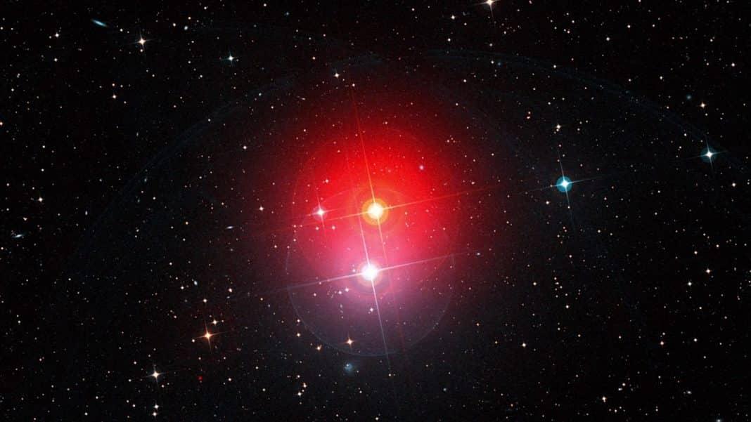 červený obor hviezda
