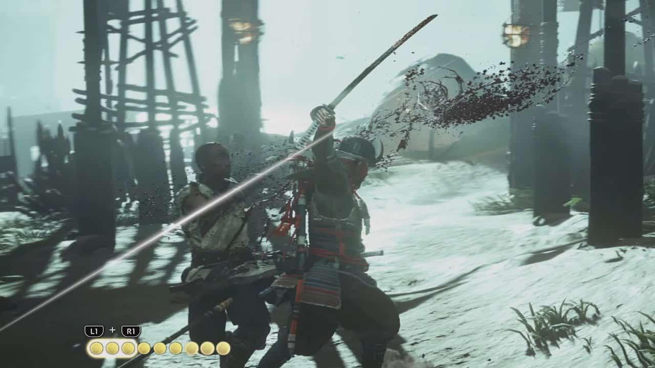 Ghost of Tsushima combat