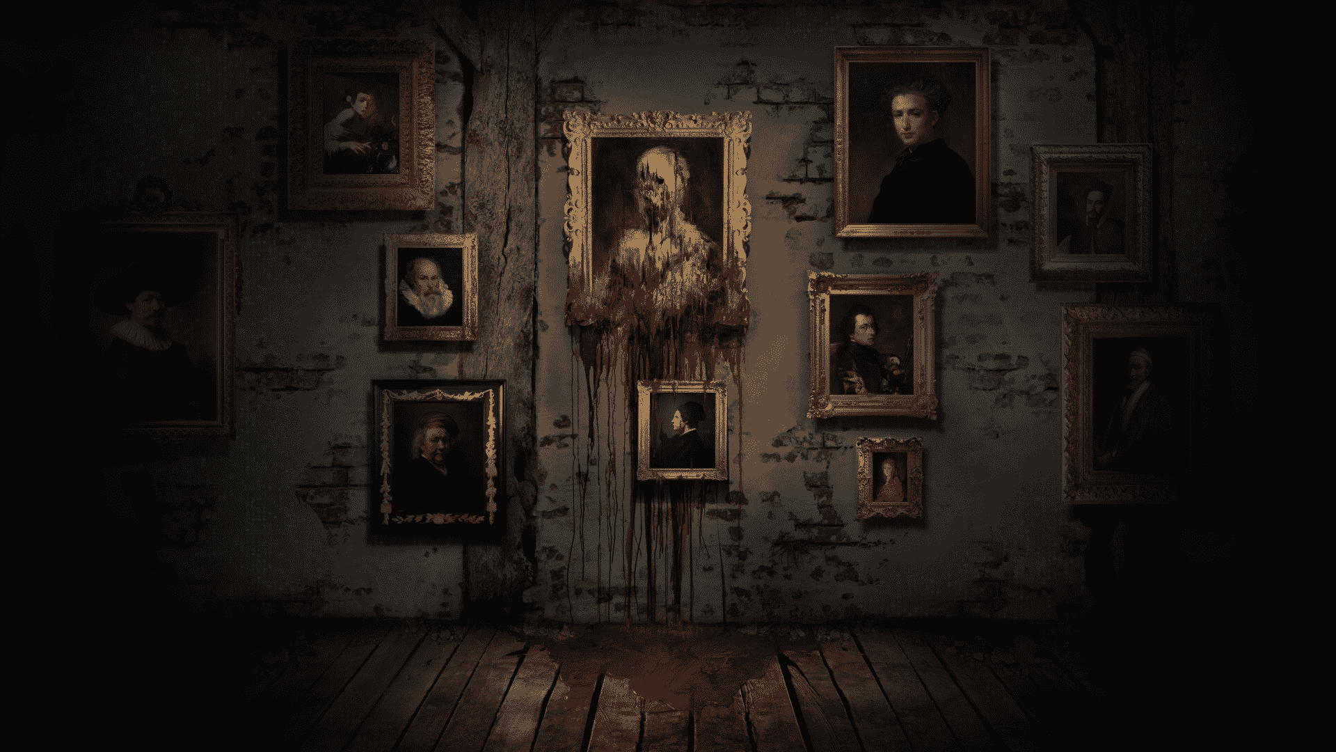 Layers of Fear najlepsie hororove hry