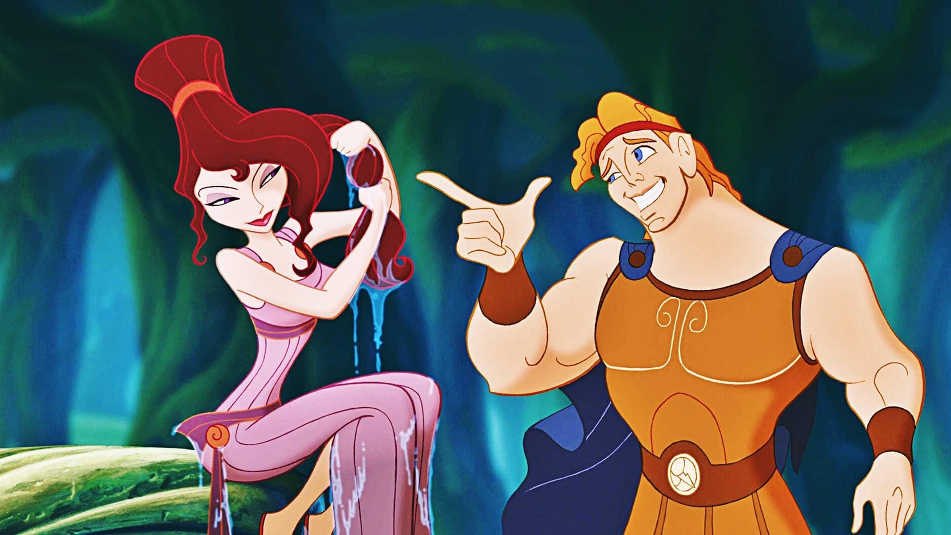 hraný film rozprávky Herkules
