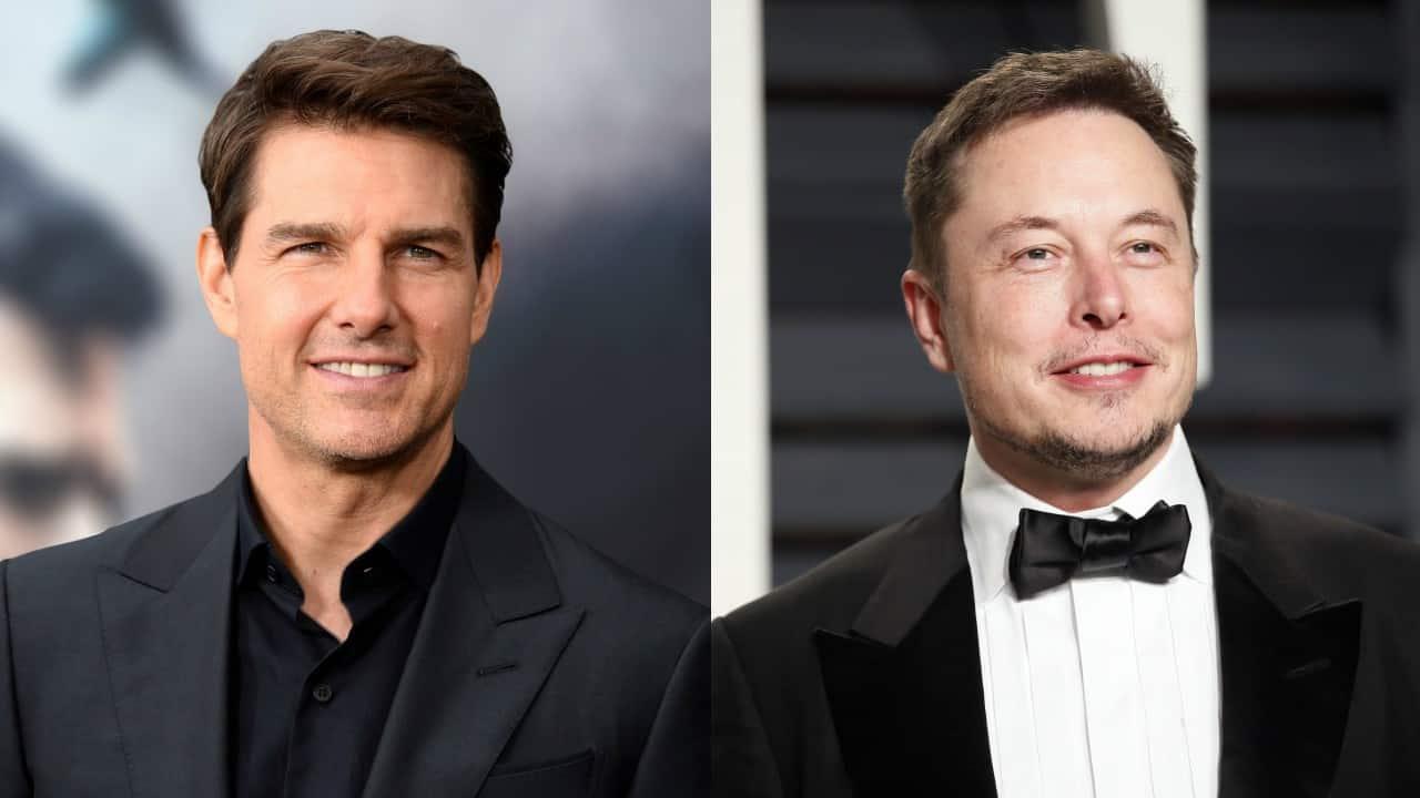 Tom Cruise Elon Musk