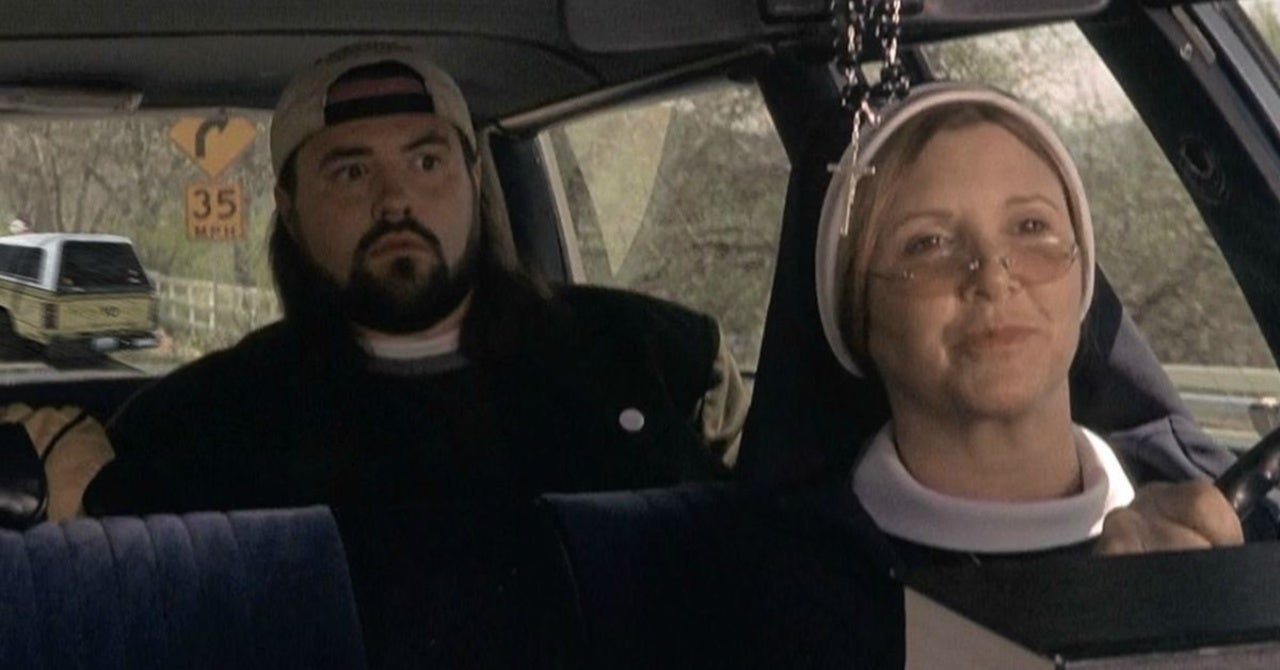kevin smith carrie fisher