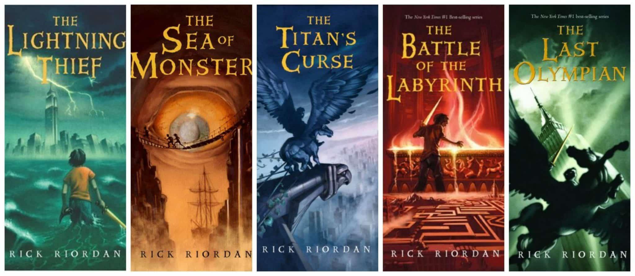 knihy Percy Jackson