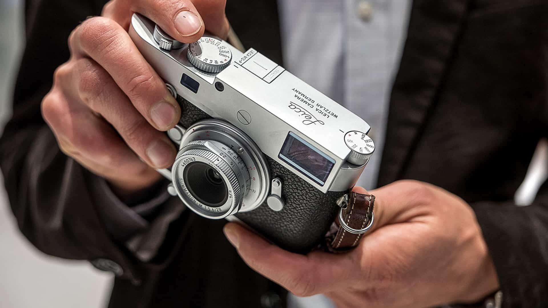 leica m10 monochrom fotoaparat