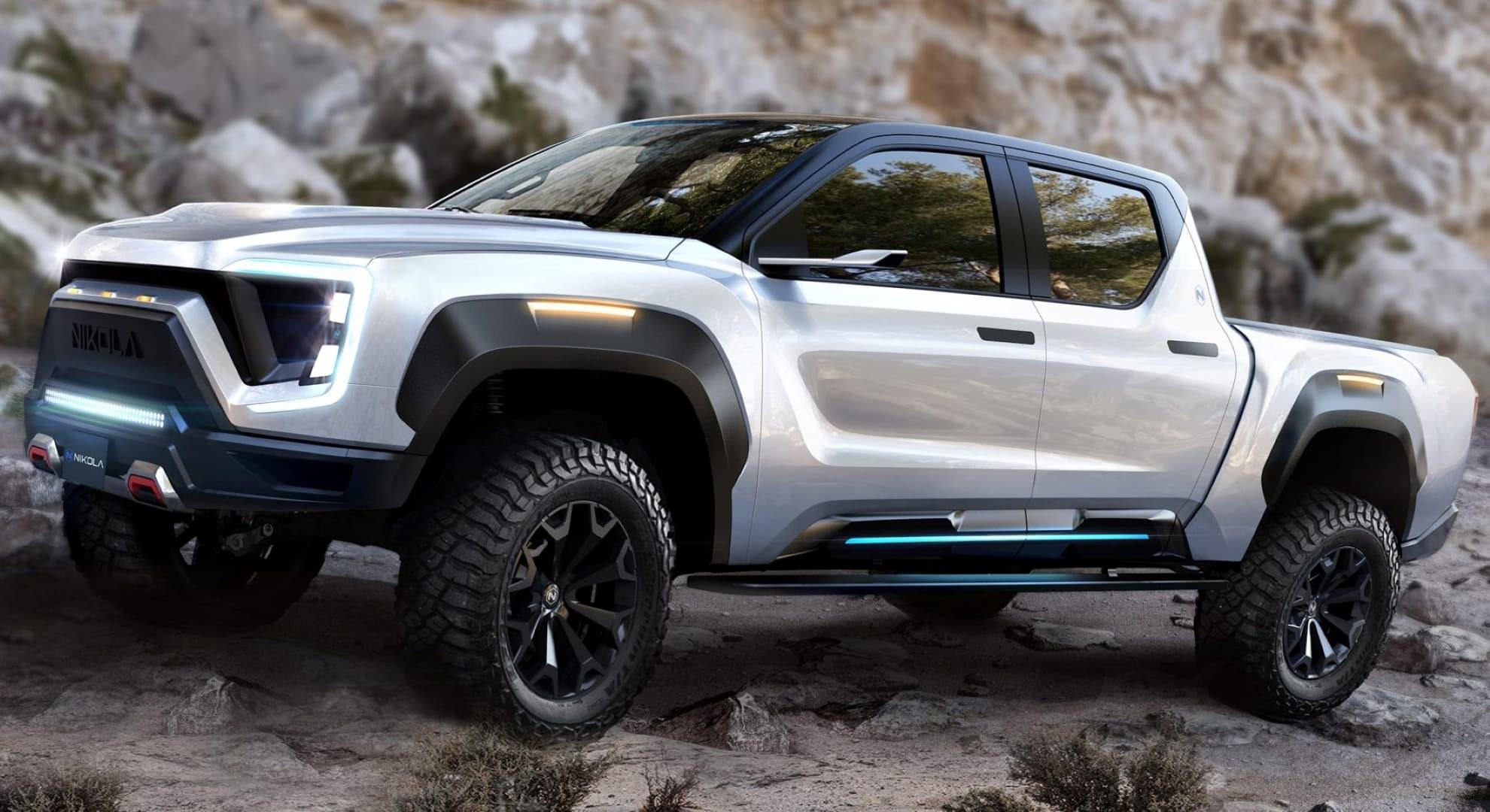 automobilka nikola motors odhalila velmi zaujimavy hybridny pick-up
