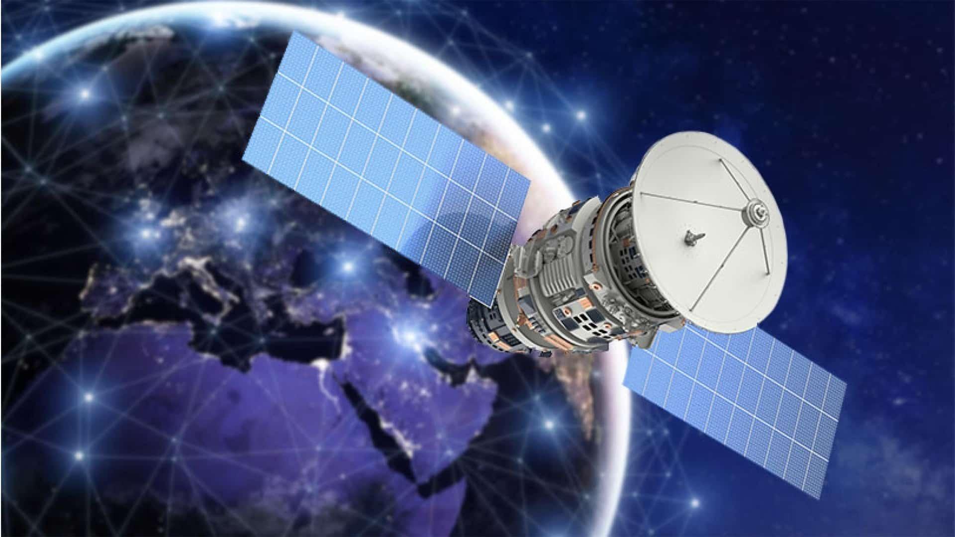 satelit vybuch