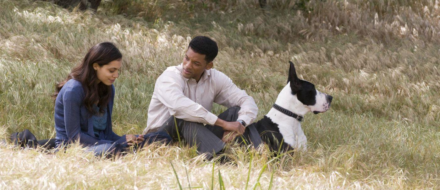 Will Smith a Rosario Dawson
