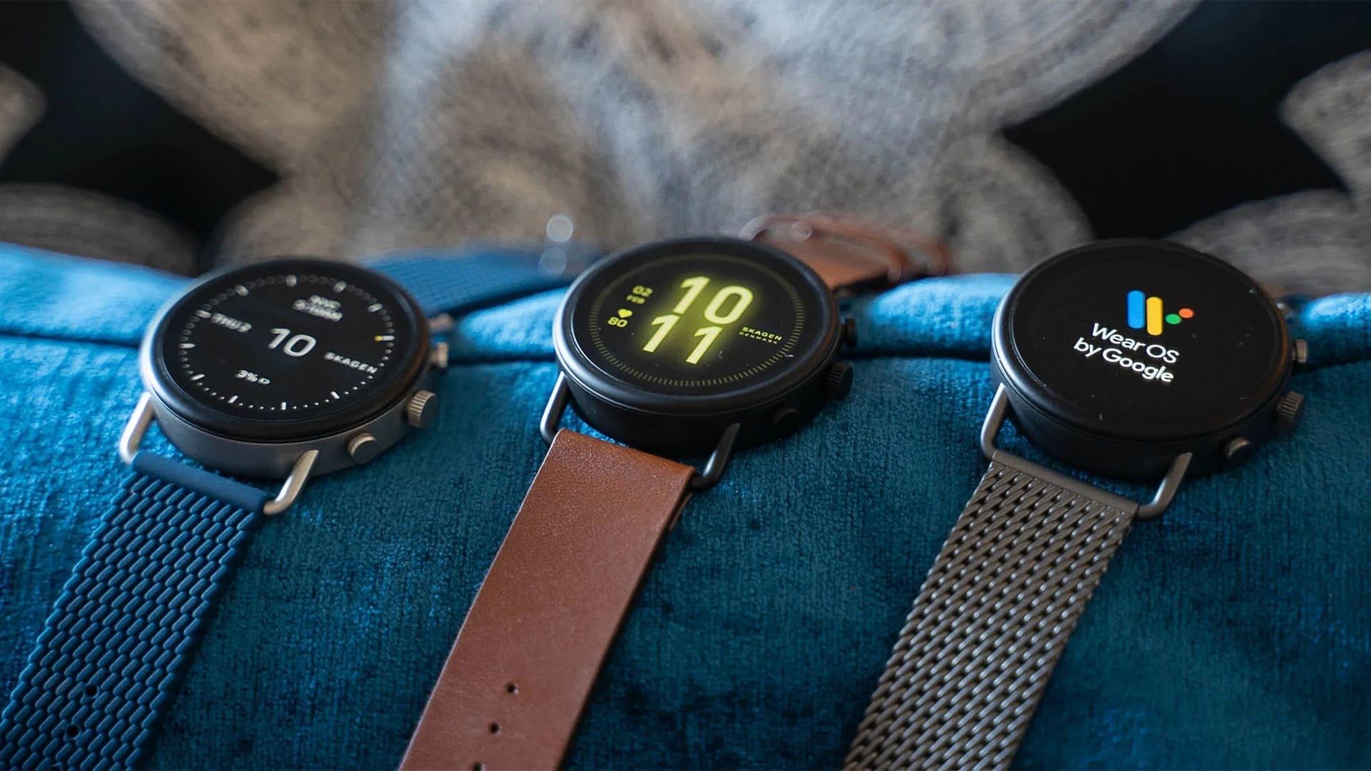 smart hodinky skagen falster 3