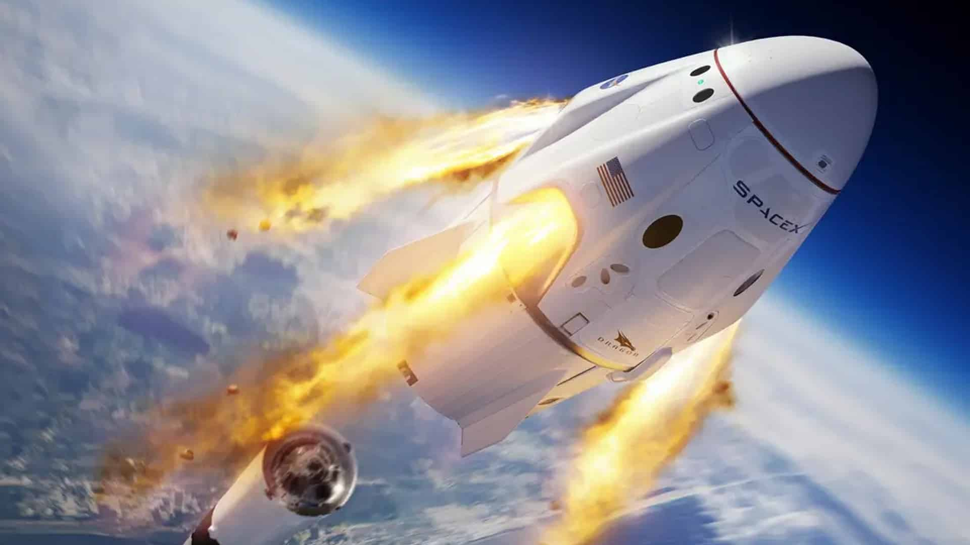 spacex crew dragon test