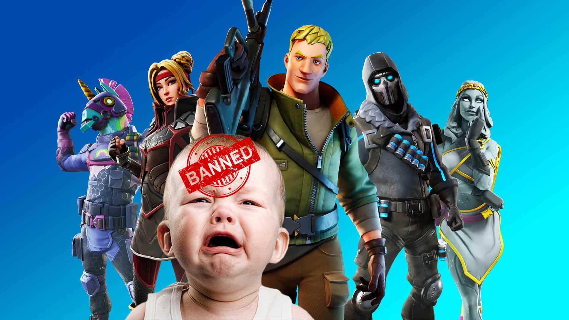 Fortnite ban
