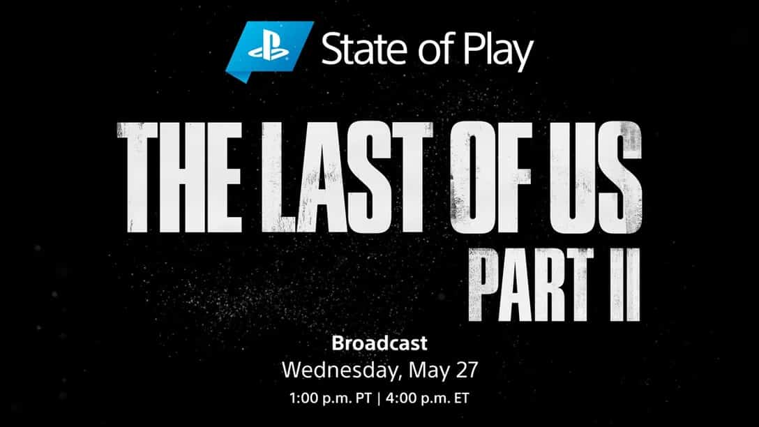 State of Play The Last of Us Part II