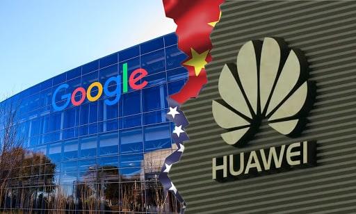 Huawei Google Trump