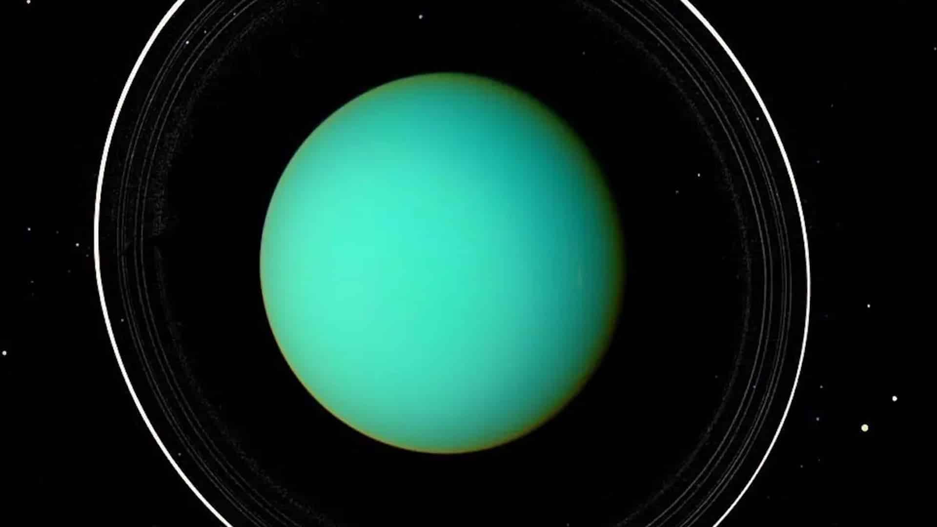 uran prstence fotografia