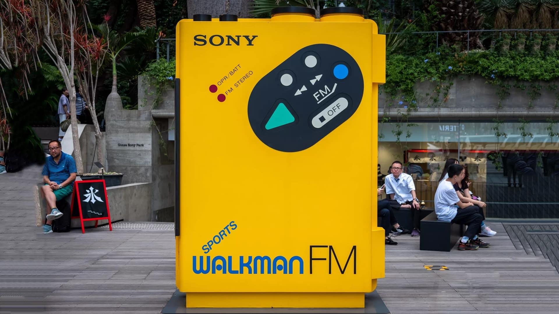walkman od sony