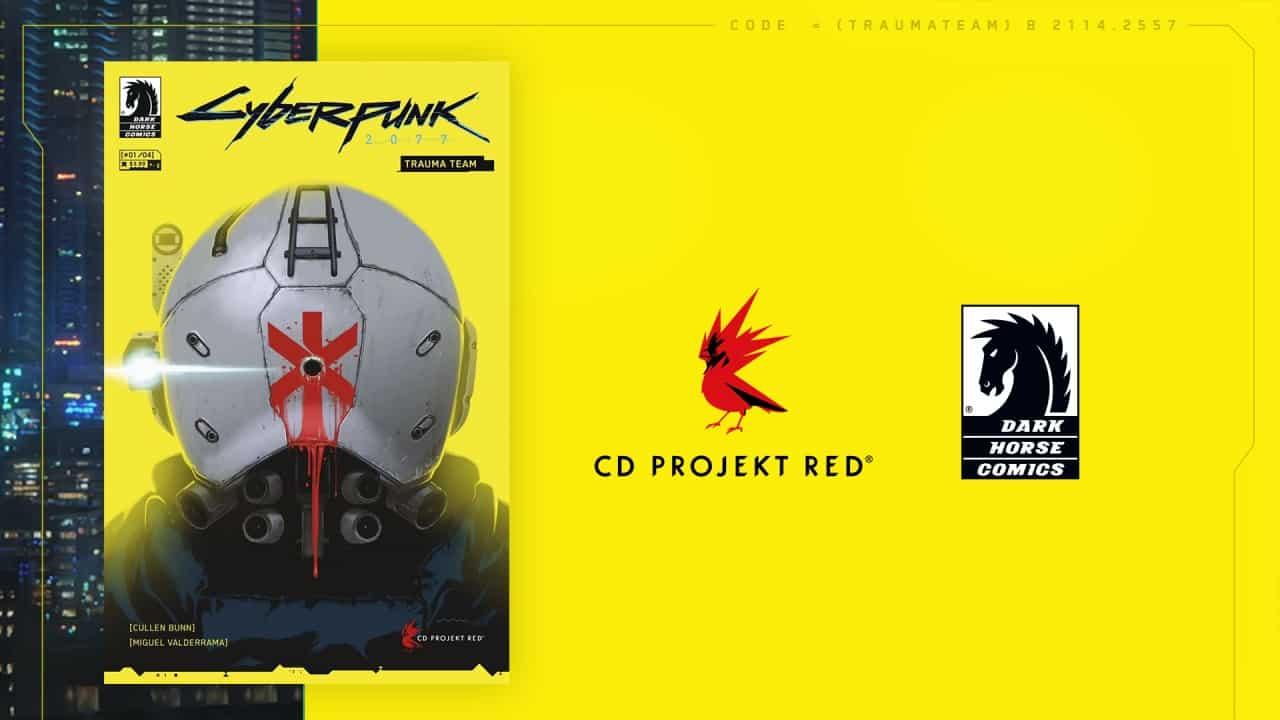 Cyberpunk 2077 komiks