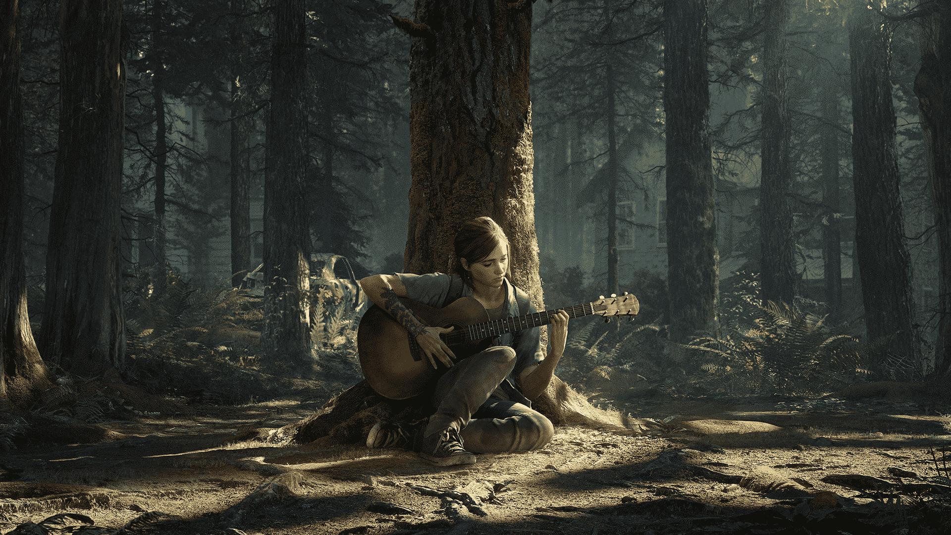 Ellie v lese