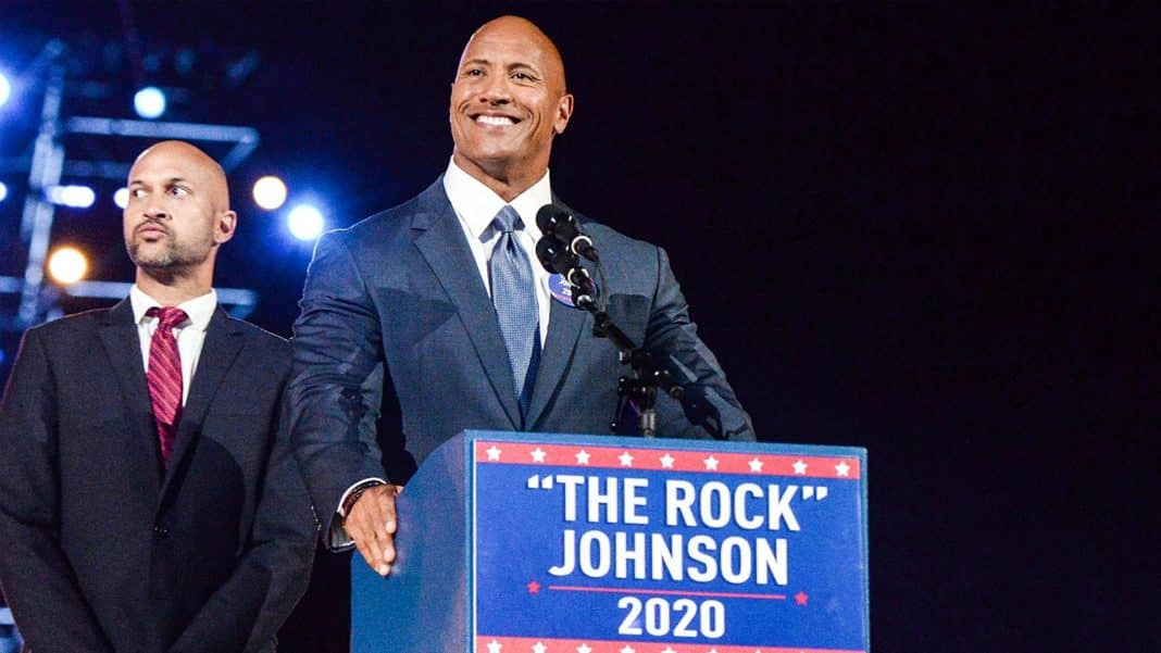 prezident Dwayne Johnson