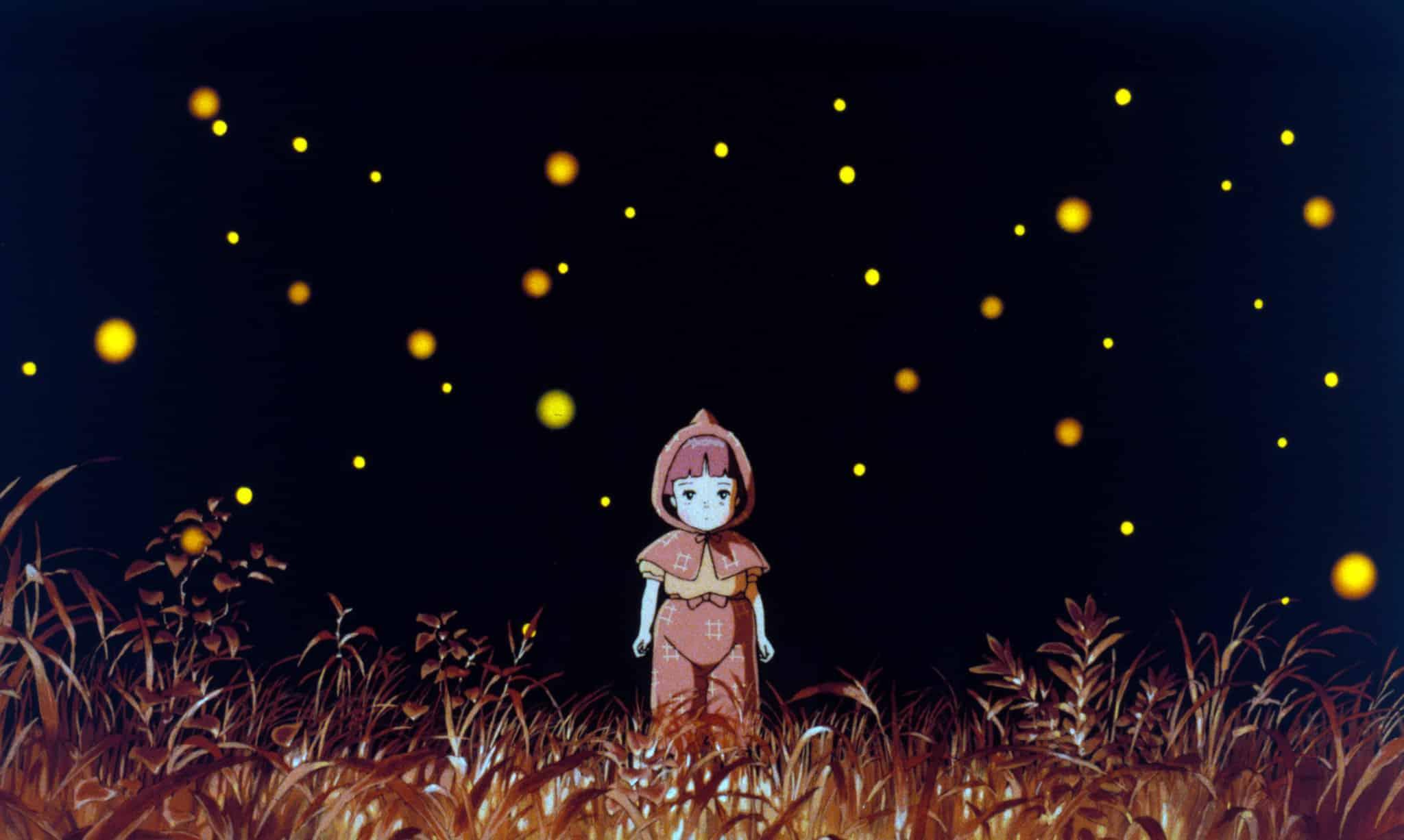 najlepšie animované filmy - Grave of the Fireflies