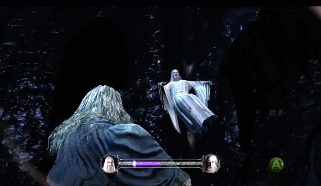 Hobbit hra - technologické demo