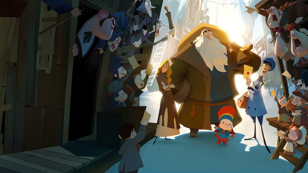 najlepšie animované filmy - Klaus
