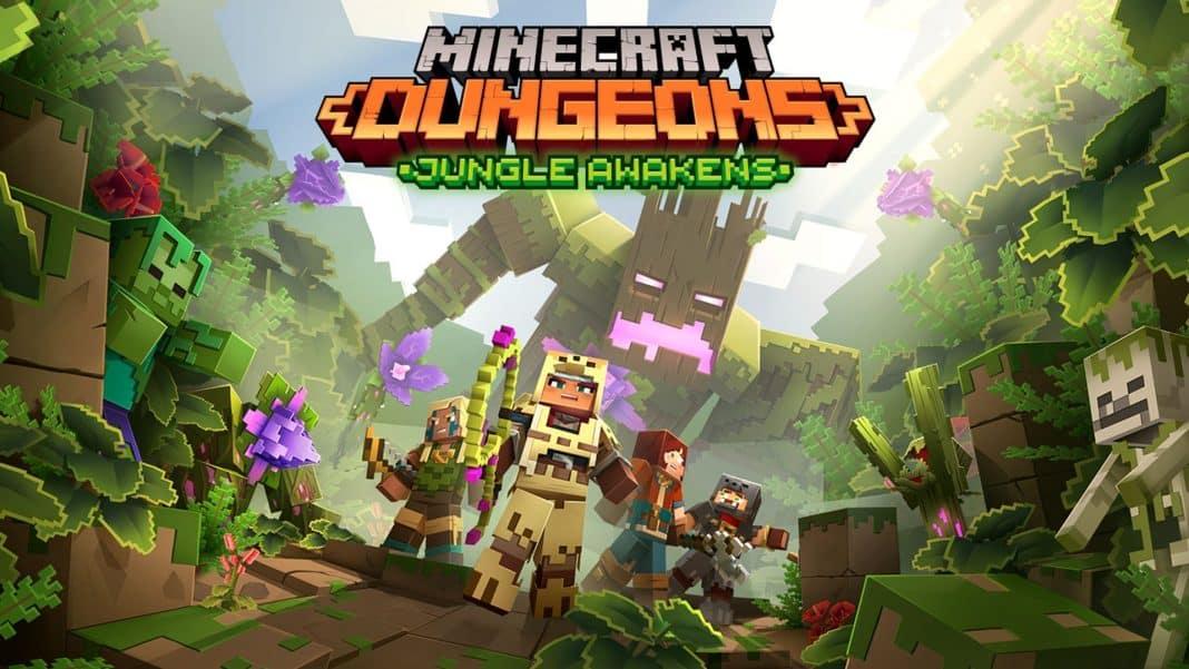 hra Minecraft Dungeons