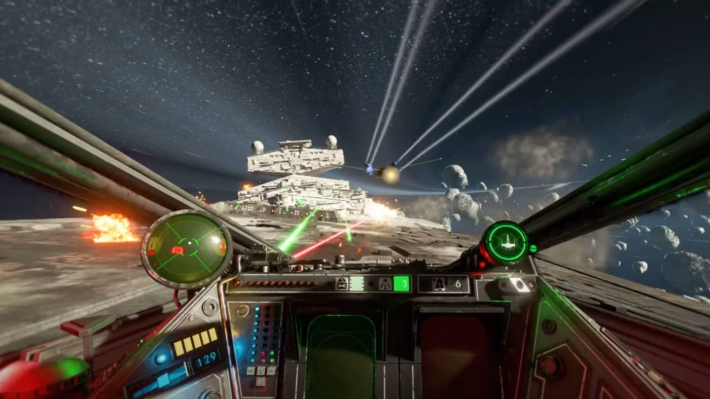 Star Wars Squadrons gameplay