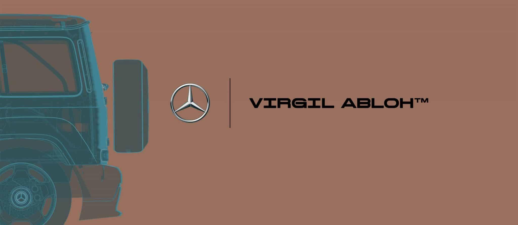 Mercedes-Benz a Virgil Abloh