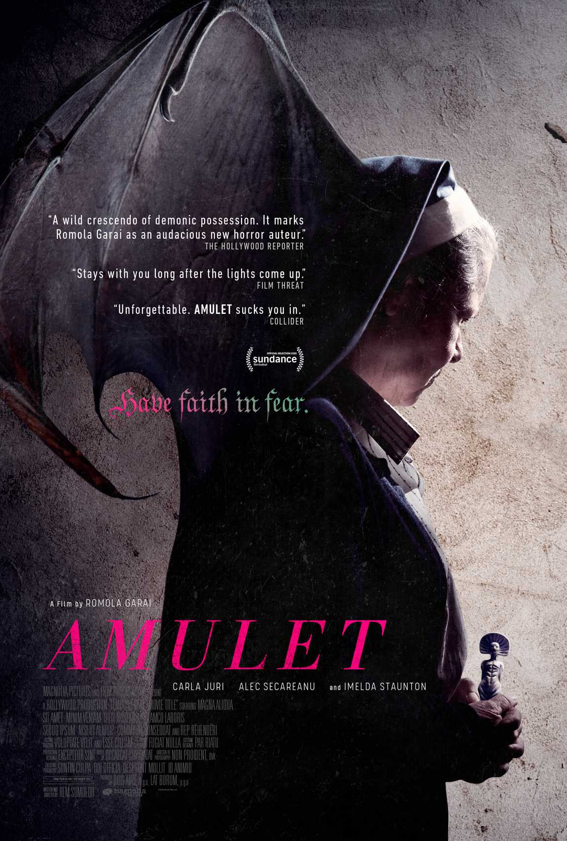 Amulet plagát trailer